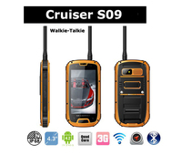 3G Andriod WCDMA+GSM rugged IP68 Mobile phone with Mobile Walkie Talkie/Radio