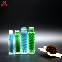 Hot sale 10ml ring thread essential oil glass bottle