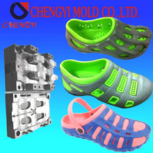 2015 newest two color eva injection clog shoes mould, mold maker,aluminum injection mold
