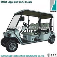 Homologated electric golf cart,4 seats, EEC approved, EG2048KR-01