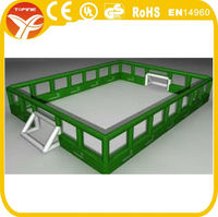 2015 inflatable football pitch