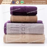 100% cotton black Luxury Combed Cotton bath towel