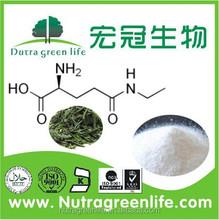 Organic Green tea extract powder, L-Theanine, 98%