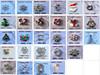 3D nail art accessories Metal alloy nail decoration
