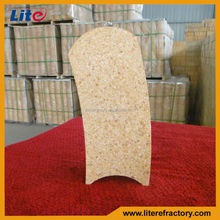 Withstand High Temperature Calcined alumina refractory ladle lining brick For Sales