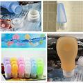 Pequeñas botellas de licor/civilizado de la faa exprimible champú crema contenedor de silicona tubo de viaje
