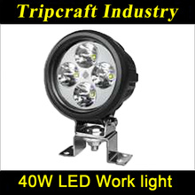 Factory wholesale! Led Work Light high power 4.7 inch 40W LED WORK LIGHT 10-30V DC all general cars led bulb light TC-0923-40W