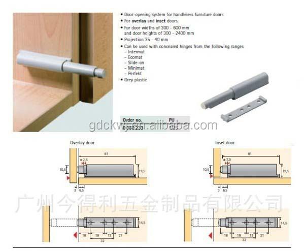 Beau Soft Close Drawer Damper Push Open Door Latch   Buy Push Open Door ...