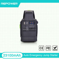 New Products 2015 Portable Peak 23100mAh 24V Mini Multifunction power bank car jump start