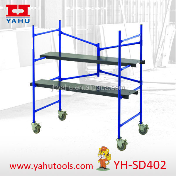 Portable Scaffolding With Wheels : Portable folding scaffolding platform with wheels buy