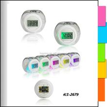 with custom printed logo bird sound alarm clock