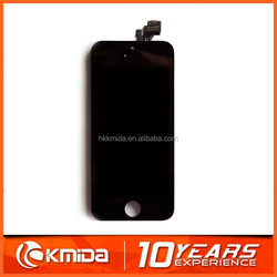 Replacement suitable for apple iphone 5 lcd lcd display ,digitizer full assembly with touch screen black and white