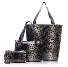 snake skin courful genuine leather handbag ,real genuine cow leather