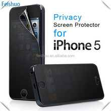 Customized new products 3m privacy screen protector for iphone
