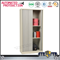 Cheap metal lockable roller shutter door office cabinet/ modern design tambour cabinet