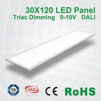 High brightness Low power consumption 55W 10mm 45w 72w Dimmable DALI IP40 led rgb panel light solar panel light
