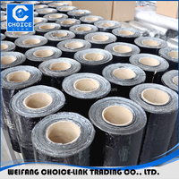 bitumen based aluminium flash bend / asphalt sealing tape for roof waterproofing