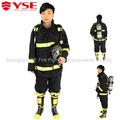 De protección contra incendios traje, los bomberos de prendas de vestir, fuego uniforme de combate