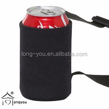 Customized Polyester 6-can Beer Cooler Bags with Shoulder Strap