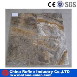 grey silver travertine pavers & tile 30x30