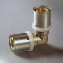 PEX Pipe Connector Brass Press Fitting