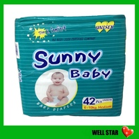 High quality wholesale disposable xxl six baby diapers