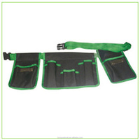 Multi-pockets Tool Carry Bag/ Canvas Garden Toolkit Tote Bag/Garden Tool Bag