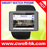 ALPS Z2 3G Smart Watch Phone Android MTK6577 Dual Core 2.0 Inch Capacitive Screen 2.0MP Camera WIFI GPS 8GB Memory Bluetooth