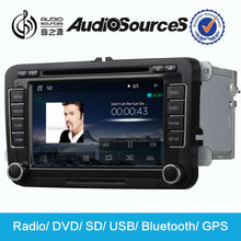 AS-610 car dvd 2 din auto radio for vw polo with canbus,RDS,Bt,SD,USB and 3G functions
