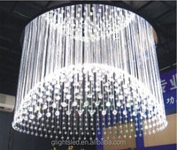 Fashion pendant lighting for project presentation, fiber optic lighting production promotion release conference