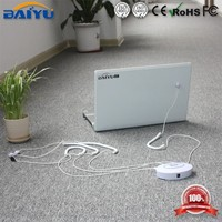 Multichannel security laptop display alarm stand with charging function