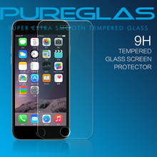 Pureglas nano slim tempered glass screen protector for iphone 6s cellular accessories wholesale
