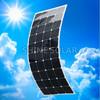 High efficiency 120W flexible solar panel SunPower for charging 12V battery