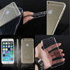 China Phone Case Manufacturer Supply transparent blank cell phone case for iphone 6