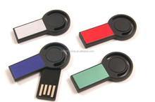 New design mini swivel usb flash drive, promotional cheap plastic mini usb memory stick, 1tb, 2tb