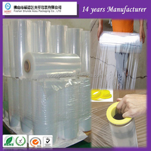 LLDPE wrapping film FOSHAN hand stretch film for outpackage