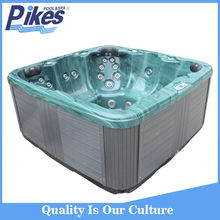 CE approved high quality factory outlet jetted tub shower combo