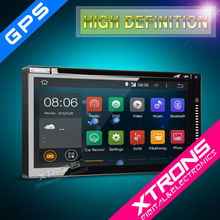 """Xtrons TD696A- NEWEST 6.95"""" Android 4.4.4 KitKat Quad-Core touch Screen WiFi Double Din Car Navigation System"""