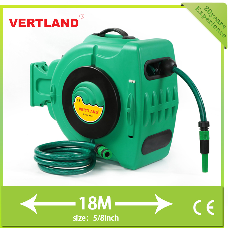 Garden tools leader wholesale pvc retractable hose reel for Gardening tools jakarta