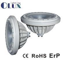 China Warm white 12W AR111 led lamp ,DC12V Thermal plastic AR111 led light ,GU10 base AR111 led