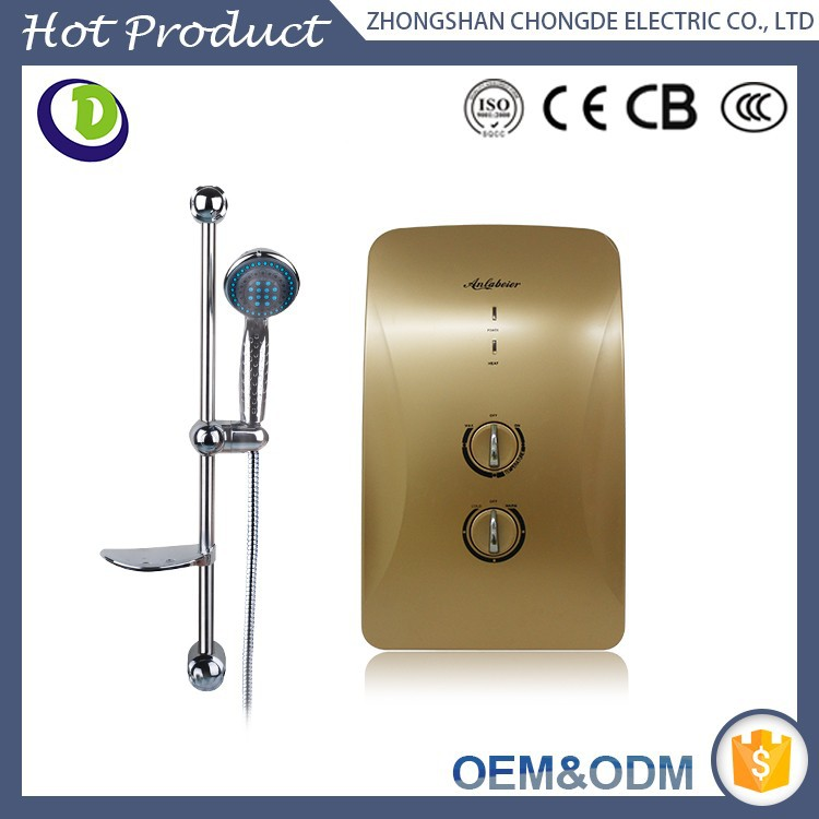 Plastic material ce cb certification fast and safe wall for Plastic water heater