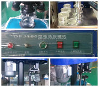 stainless steel semi automatic tin can seaming machine for entrepreneurship