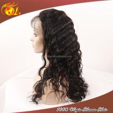 Grade 7a virgin hair wig for men 180% density peruvian human hair full lace wig