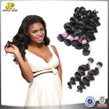 JP Hair 2015 New Arrival Virgin Filipino Machine Made Weft Hair Extensions