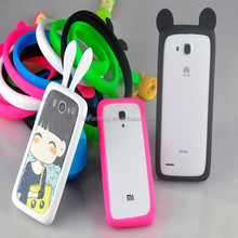 Hot Sale Multifunctional Glowing Luminous Fluorescence Ring Case For Iphone Samsung
