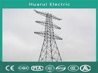 Certificated 500 KV Electrical power transmission line Towers