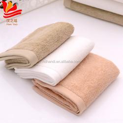 Not shrink wholesale organic 100% cotton hand towel