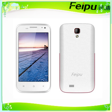 FEIPU 4.0 inch LCD screen, GSM/WCDA dual core fashion cell mobile phone with Accessories