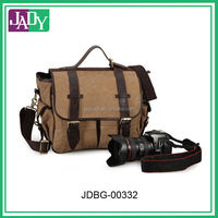 2014 Terendy Vintage Canvas Leather DSLR Camera bag