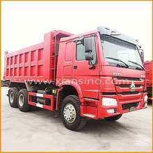 Large mechanical transport ore vehicle 6x4 dumper truck for sale